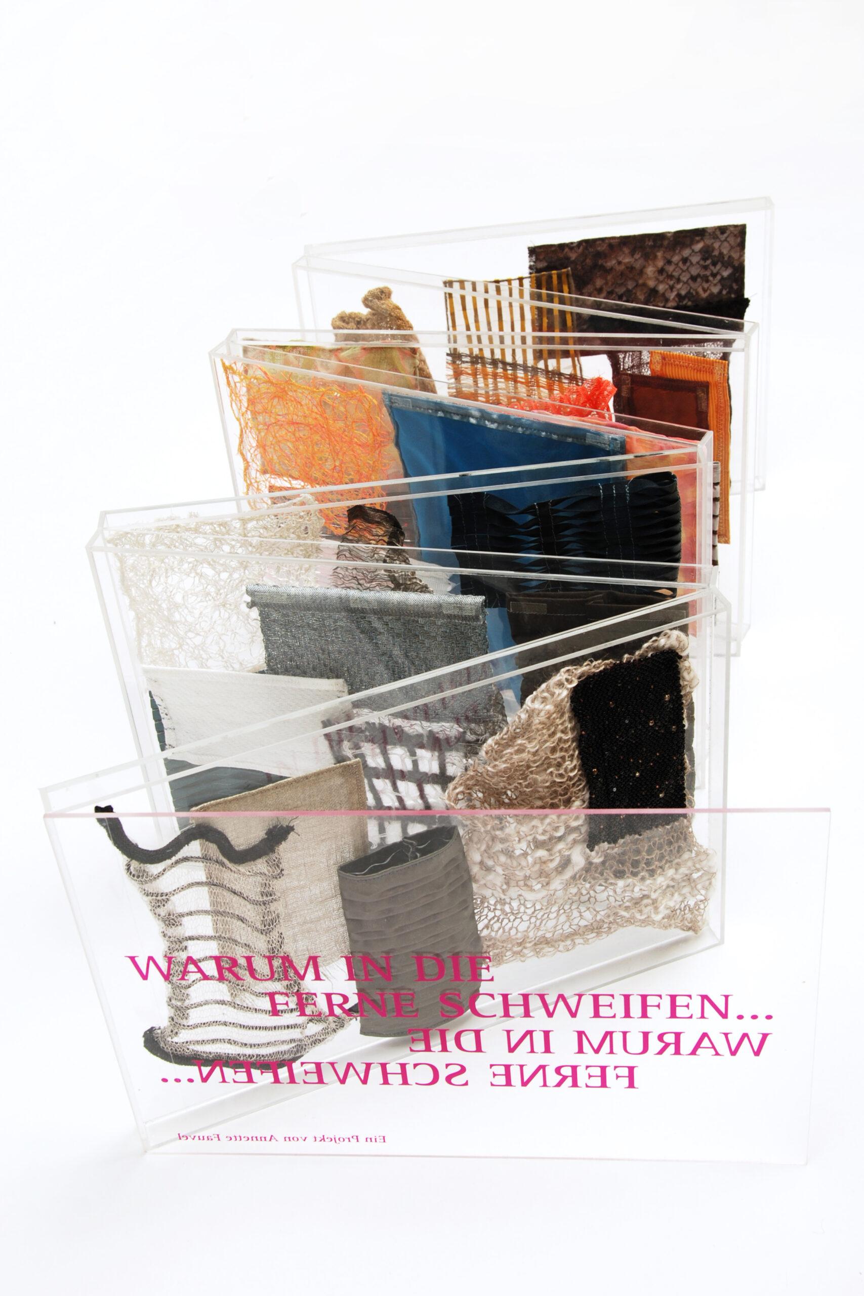 Materialexperimente von Annette Fauvel